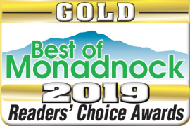 CharlesWorks was voted Best Web Developer and Best Web Hoster in the Best of Monadnock for 2019